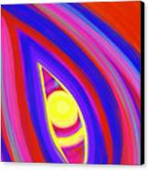 The Horizon Of Osirus Canvas Print by Daina White