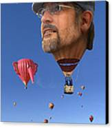 The Hot Air Surprise Canvas Print by Mike McGlothlen