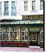 The Irish Pub - Philadelphia Canvas Print by Bill Cannon