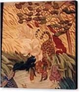 The Jaguar  Canvas Print by Charles Lucas