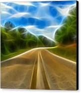 The Journey Canvas Print by Wendy J St Christopher