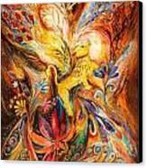 The Keeper Of Three Keys Canvas Print by Elena Kotliarker