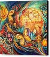 The Key Of Jerusalem Canvas Print by Elena Kotliarker