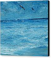 The Kite Surfers Canvas Print by Conor Murphy