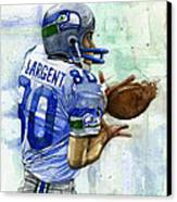 The Largent Canvas Print by Michael  Pattison