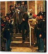 The Last Moments Of John Brown Canvas Print by Pg Reproductions