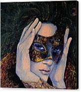 The Last Secret Canvas Print by Dorina  Costras