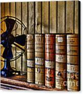 The Lawyers Desk Canvas Print by Paul Ward