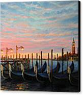 The Living Flame Of The Day Canvas Print by Kiril Stanchev