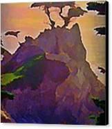 The Lone Cypress Canvas Print by John Malone