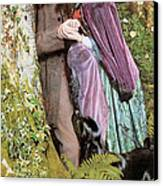 The Long Engagement Canvas Print by Arthur Hughes