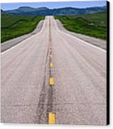 The Long Road Ahead Canvas Print by Olivier Le Queinec