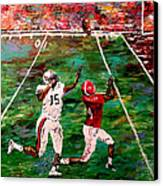 The Longest Yard Named  Canvas Print by Mark Moore