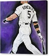 Carlos Gonzales Canvas Print by Don Medina