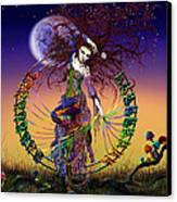 The Lover Canvas Print by Kd Neeley