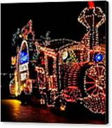 The Main Street Electrical Parade Canvas Print by Benjamin Yeager