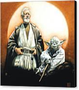 The Masters Canvas Print by Edward Draganski