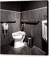The Mens Room Canvas Print by Bob Orsillo