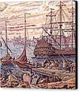 The Merchant Of Venice Canvas Print by Ricky Nathaniel