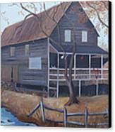 The Mill Canvas Print by Glenda Barrett