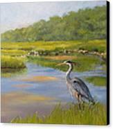 The Millway Marsh Canvas Print by Karol Wyckoff
