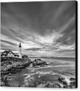 The Motion Of The Lighthouse Canvas Print by Jon Glaser