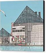 The National Aquarium Canvas Print by Calvert Koerber