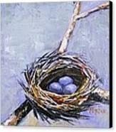The Nest Canvas Print by Brandi  Hickman