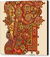 The New Chi Rho Canvas Print by Martin Brockhaus