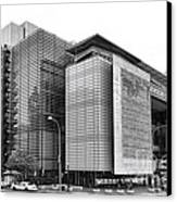 The Newseum Canvas Print by Olivier Le Queinec