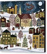 The Night Before Christmas Canvas Print by Medana Gabbard