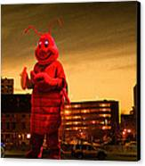The Night Of The Lobster Man Canvas Print by Bob Orsillo