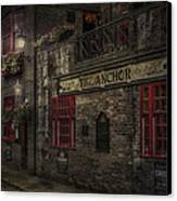 The Old Anchor Pub Canvas Print by Erik Brede