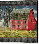 The Old Barn Canvas Print by Jo Baner