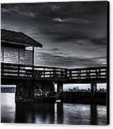 The Old Boat House Canvas Print by Erik Brede