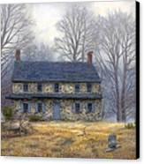 The Old Farmhouse Canvas Print by Chuck Pinson