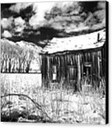 The Old Homestead Canvas Print by Cat Connor