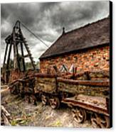 The Old Mine Canvas Print by Adrian Evans