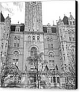 The Old Post Office  Canvas Print by Olivier Le Queinec