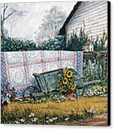 The Old Quilt Canvas Print by Michael Humphries
