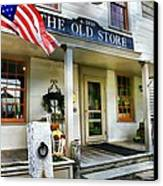 The Old Store Canvas Print by Diana Angstadt