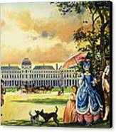 The Palace Of The Tuileries Canvas Print by Andrew Howat
