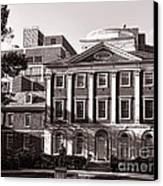 The Pennsylvania Hospital Canvas Print by Olivier Le Queinec