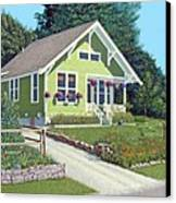 The Pickles House Canvas Print by Gary Giacomelli