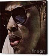 The Pied Piper Of Intrigue - Jay Z Canvas Print by Reggie Duffie