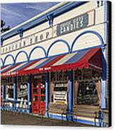 The Popcorn Shop Canvas Print by Dale Kincaid