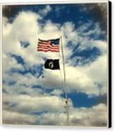 The Price Of Freedom Canvas Print by Glenn McCarthy Art and Photography