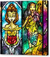 The Princesses Canvas Print by Mandie Manzano