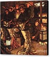 The Prodigal Son In Foreign Climes Canvas Print by Pg Reproductions