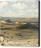 The Pursuit Canvas Print by Jean Leon Gerome